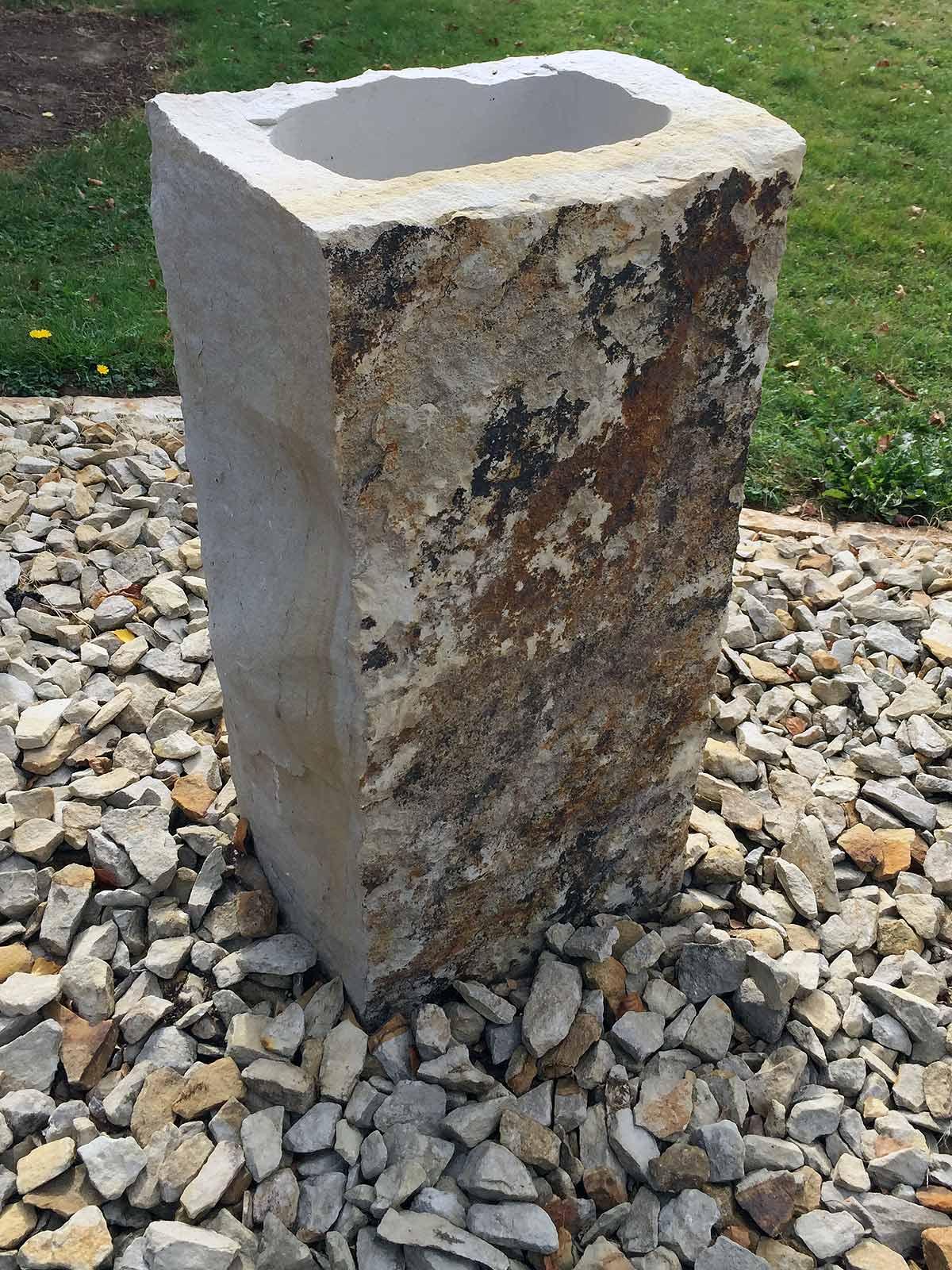 Blumenkübel blumenkübel obernkirchener sandstein