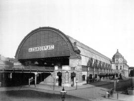 Train Station Alexanderplatz 1885 Obernkirchener Sandstein®
