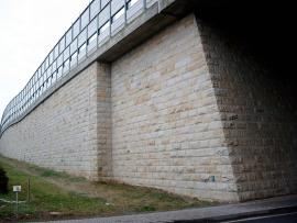 Obernkirchener Sandstein® facing bricks on bridge